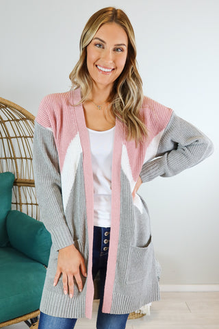 Alpine Colorblock Cardigan