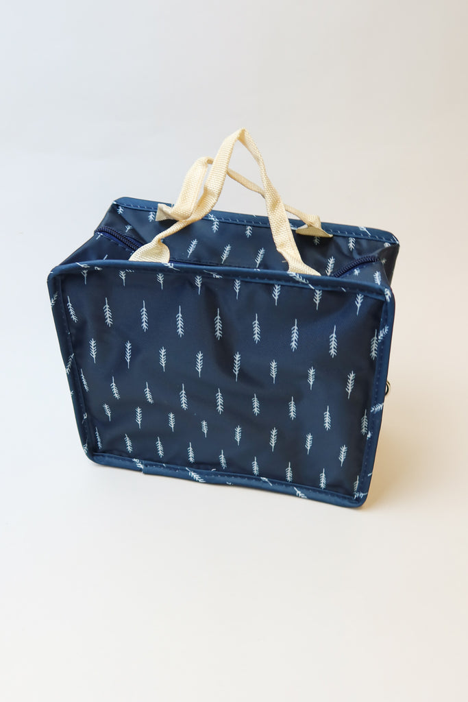 Feather Printed Lunch Bag
