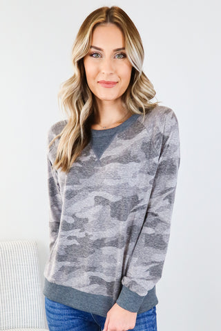 Staying In Camo Graphic Tee
