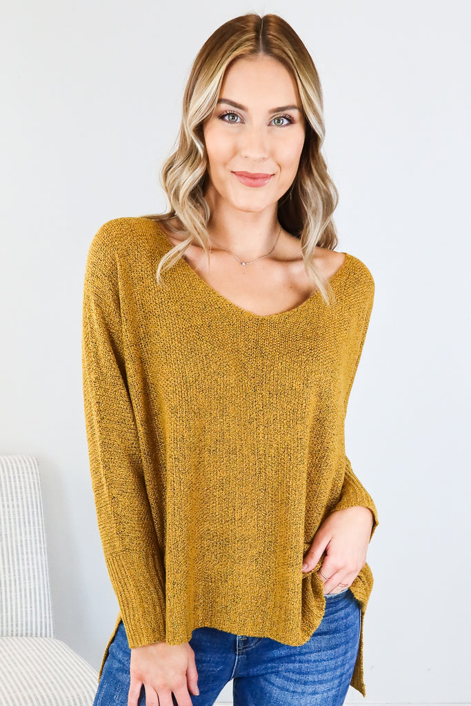 Copper Cottage Sweater - 2 Colors