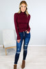 Basic Long Sleeve Turtleneck - 3 Colors