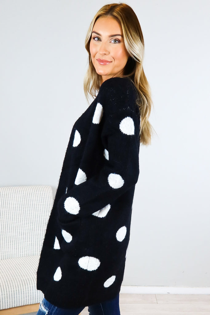 Betty Polka Dot Cardigan