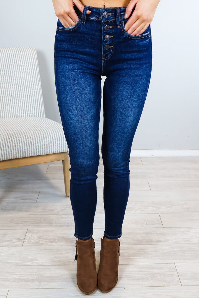 Charli High Rise Flying Monkey Jean