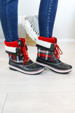 Sleigh Ride Plaid Boots