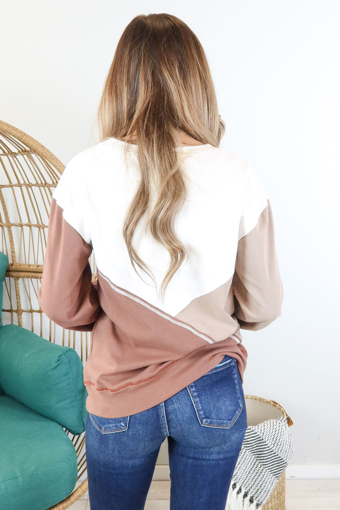 Hickory Ranch Contrast Top