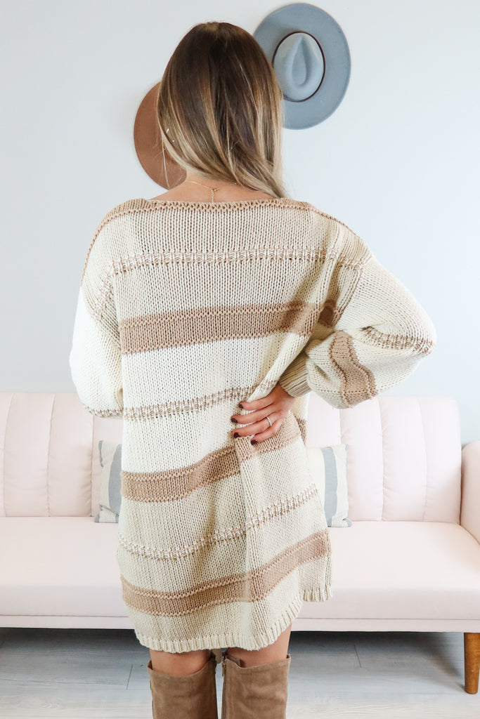 Dakota Knit Sweater Dress