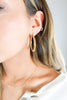 Hoop Braided Earrings - 2 Colors