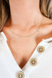 Mama Rhinestone Necklace - 2 Colors