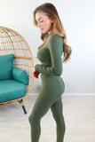 Tyra Ribbed Lounge Set - 2 Colors