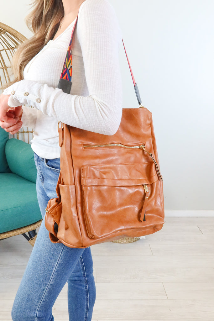 Dani Convertible Backpack Purse - 4 Colors