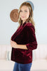 Button Detail Holiday Blazer - 3 Colors