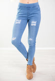 On a Cloud Denim Jeggings