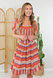 Cabo Bound Striped Dress