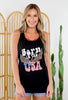 Born In the USA Graphic Tank