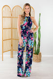 Floral Princess Jumpsuit