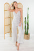 Front Porch Striped Jumpsuit