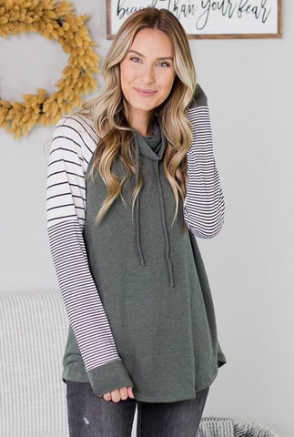 Delilah Striped Sweater - 2 Colors