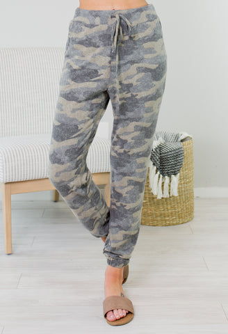 Crew Drawstring Joggers - 2 Colors