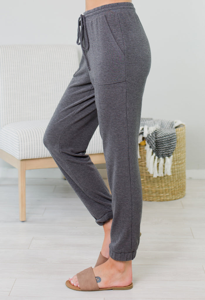 Fireside Cozy Joggers - 2 Colors
