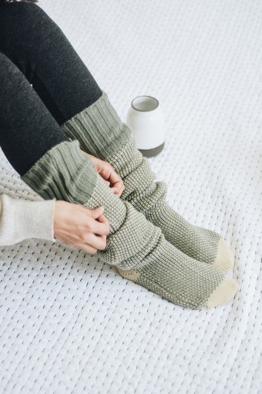 Fall Fireside Comfy Socks-New Color!