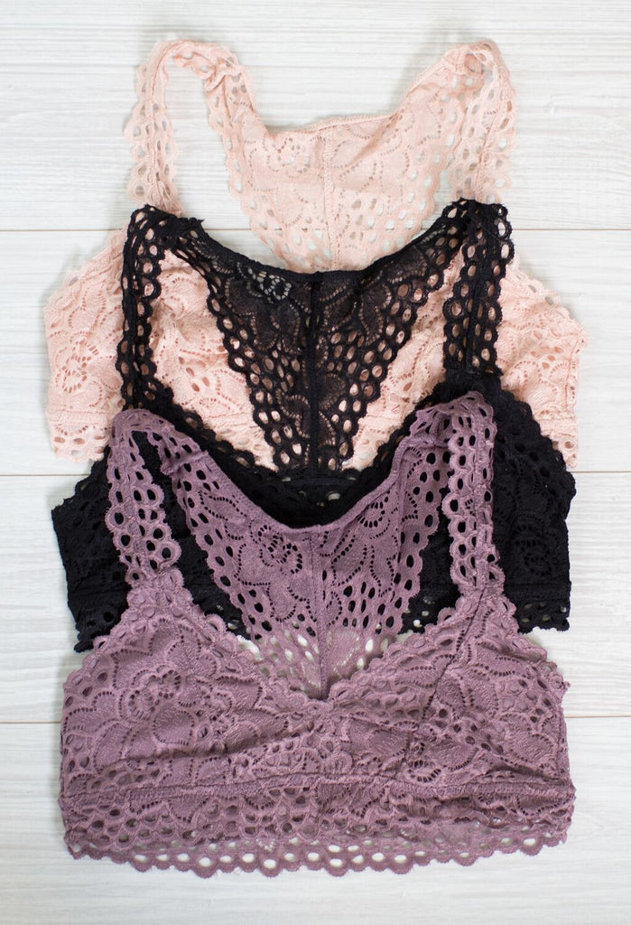 Florence Lace Bralette