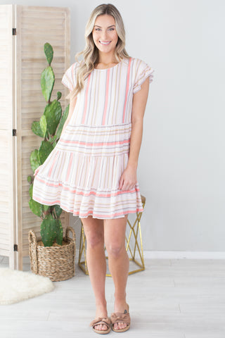 South Beach Striped Dress - 2 Colors