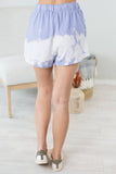 Water Mark Tie Dye Shorts