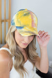 Retro Tie Dye Hat - 2 Colors