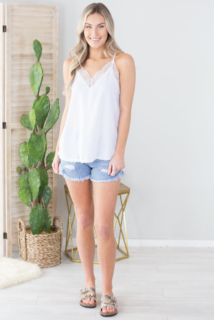 Night Life Lace Cami - 2 Colors
