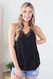Night Life Lace Cami-2 Colors!!