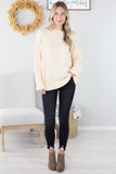 Chunky Cable Sweater - 2 Colors