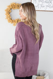 Sandi High Low Knit Sweater - 2 Colors