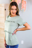 Faye Ruffle Tiered Top