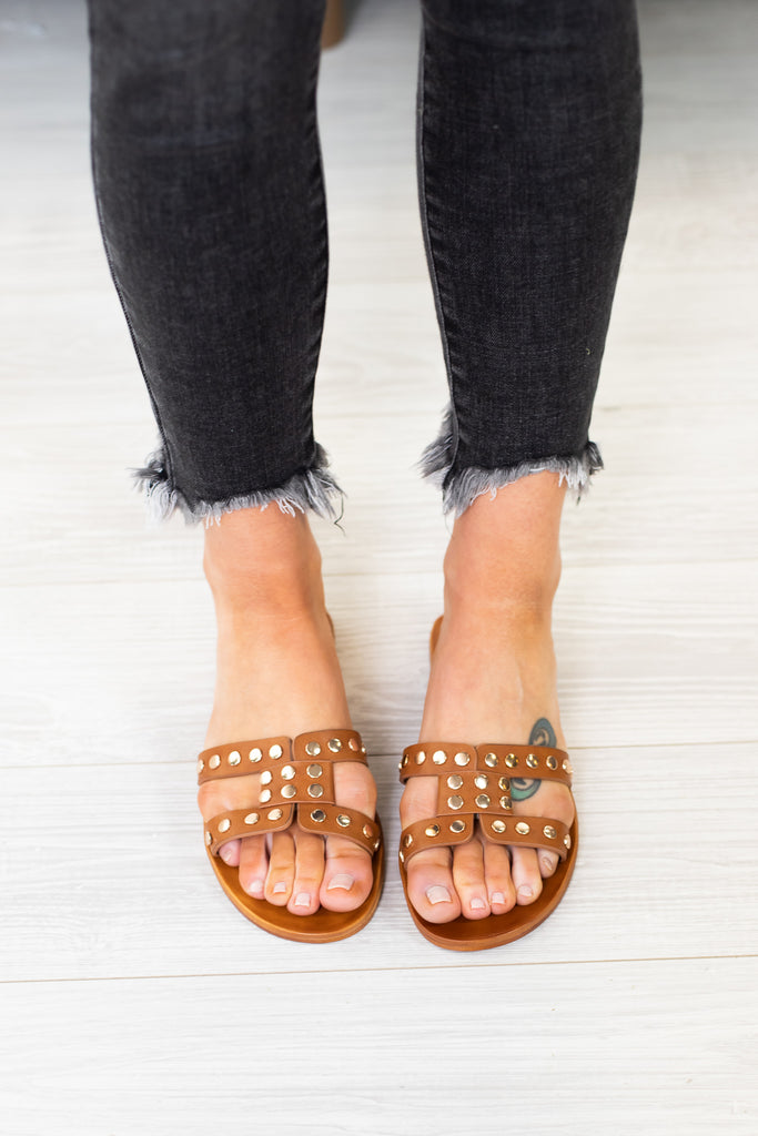 LA Stud Sandals - 2 Colors