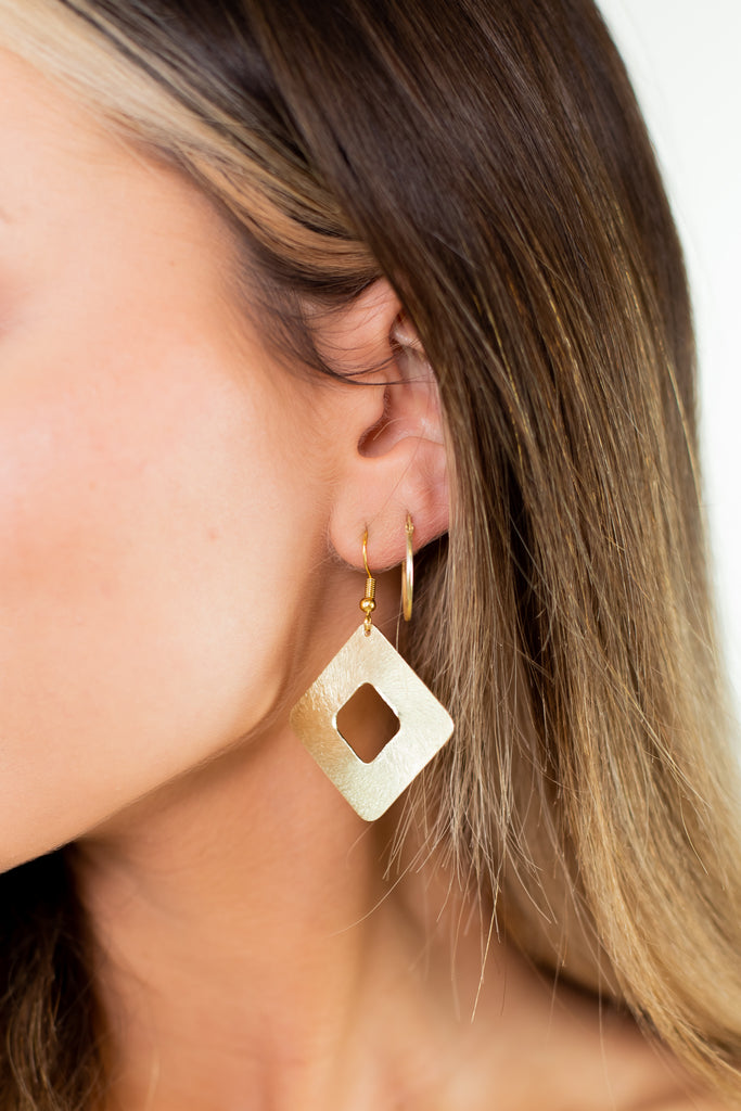 Outside The Box Earrings