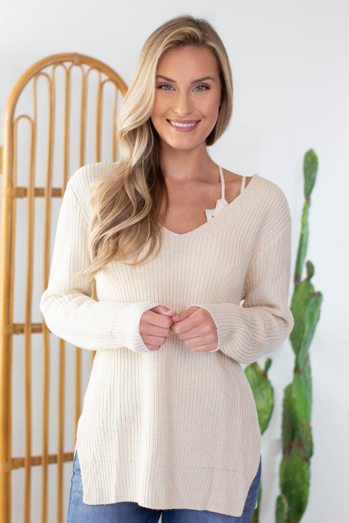 Apple Orchard Criss Cross Back Sweater
