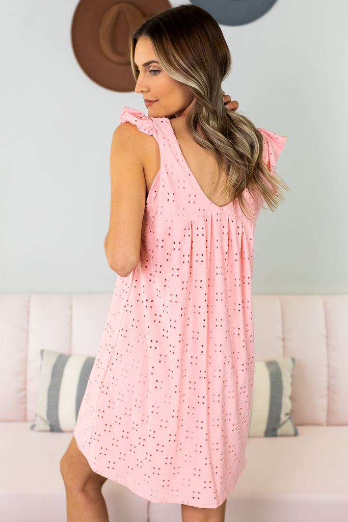 Be You Eyelet Dress