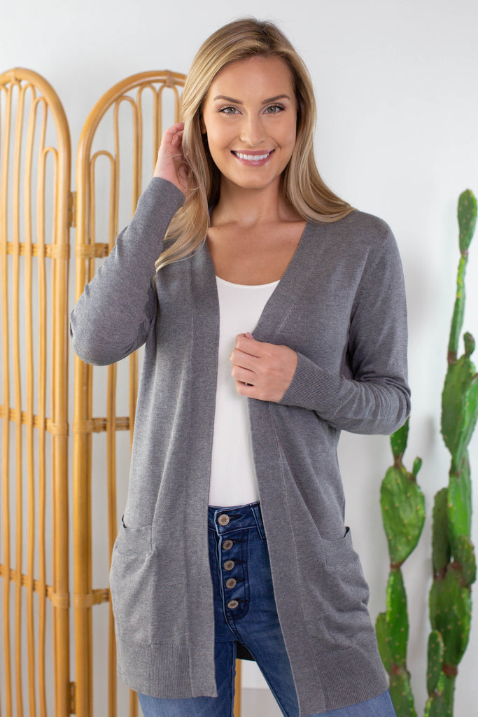 Everyday Cardigan- 4 Colors