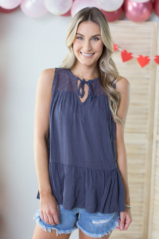Waterford Sleeveless Top - 2 Colors