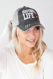 Football Life Trucker Hat