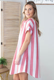 Beach Goer Striped Dress