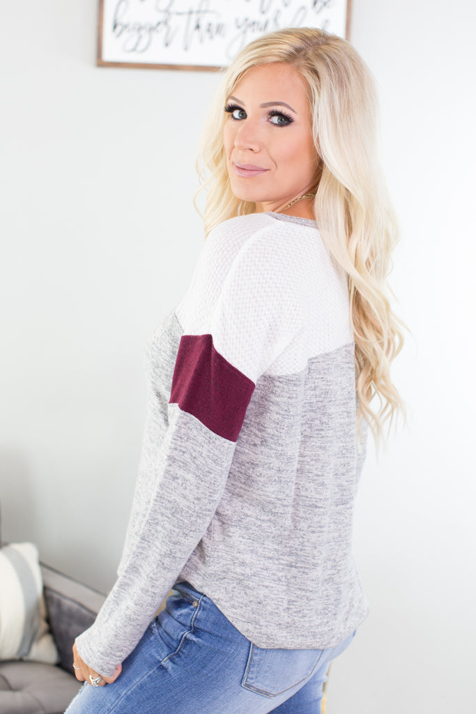Mississippi Colorblock Top