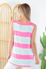 Valley Girl Striped Tank