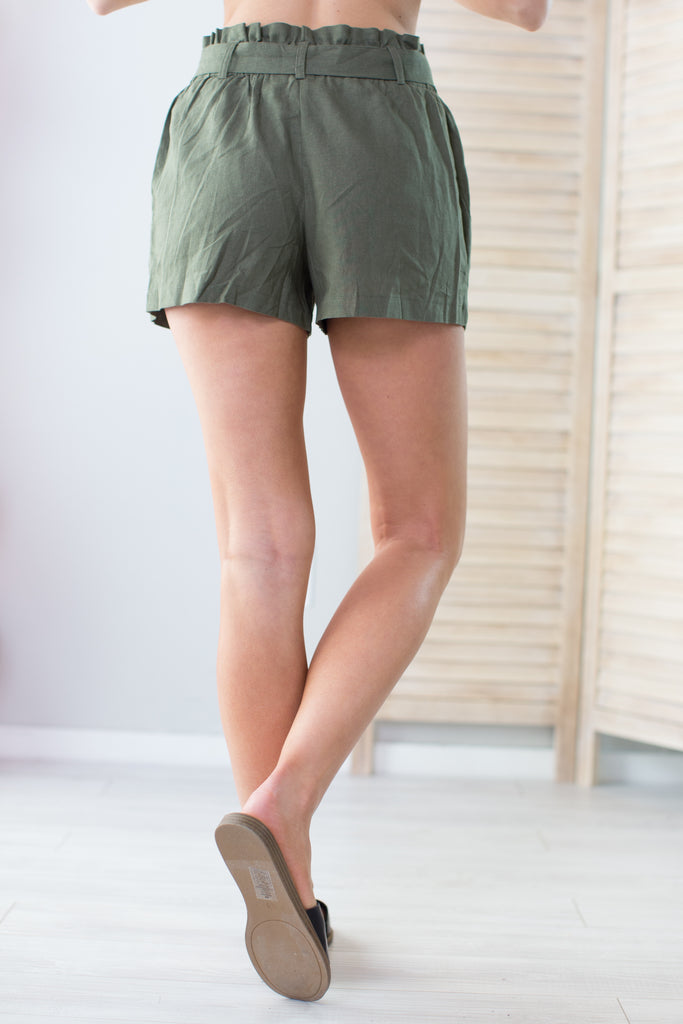 Camp Ranger Linen Shorts