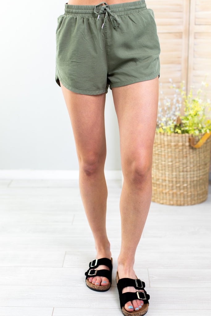 Dax Drawstring Shorts-4 Colors!!