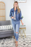 Mason Jar Basic Denim Jacket