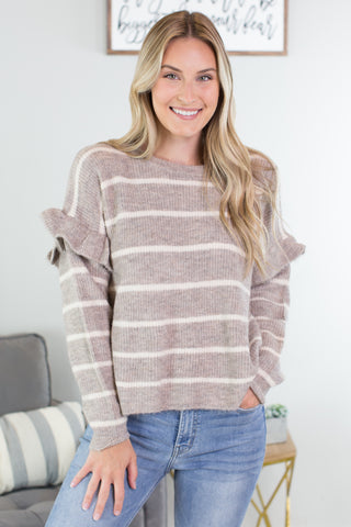 Kennedy Striped Sweater