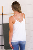 Embroidered Reversible Cami - New Color!!