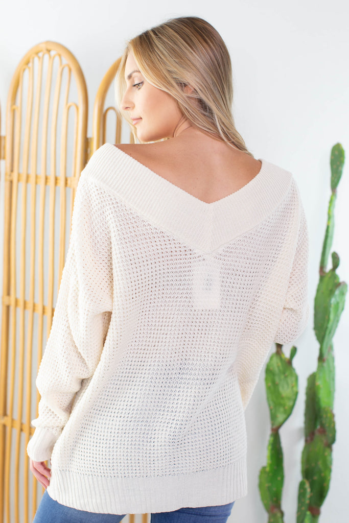 Fall Party off the Shoulder Sweater- 3 colors!