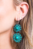 Mayans Double Shield Earrings
